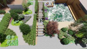 Проект ландшафтного дизайна 10
